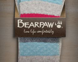 Package design for Bearpaw socks