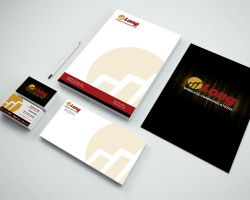 Part of a branding package for Long Wireless Communications prepaid cellular dealer